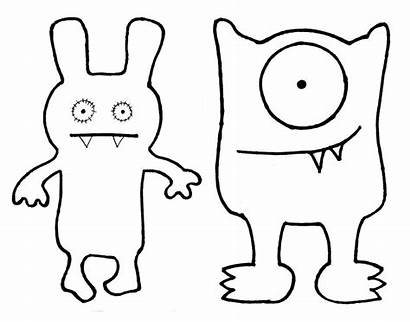 Coloring Ugly Dolls Pages Recognition Develop Creativity