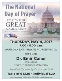 national day of prayer observance now habersham