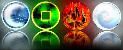 Atla Symbols Airbender Avatar Last Lok Elements