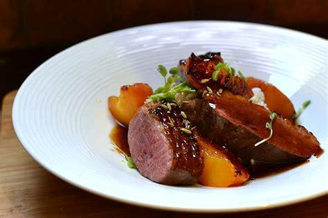 recette de cuisine gastronomique facile magret de canard aux pêches la recette facile et gourmande