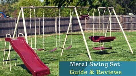 Permalink to Flexible Flyer Play Park Metal Swing Set