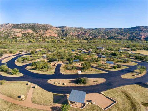 palo duro canyon state park campsites  amp electric water  juniper texas parks