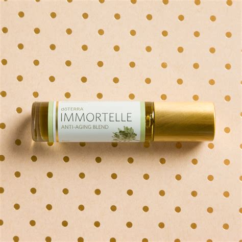 immortelle benefits doterra essential oils