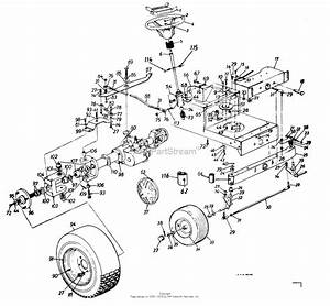 Mtd 135d614g401  1995  Parts Diagram For Wheels  Rear