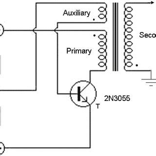 Circuit Diagram Flyback Converter High Frequency