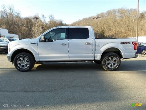 ford truck white 2016 oxford white ford f150 xlt supercrew 4x4 110988379