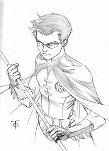 Robin sketch by 0boywonder0 on DeviantArt