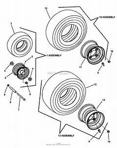 Snapper Rzt20420bve2  7800010  42 U0026quot  20 Hp Rzt Twin Stick Series 0 Parts Diagram For Wheel Group