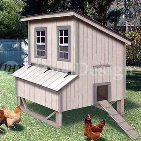 Chicken House Designs by 5 X6 Modern Style Chicken House Coop Plans 90506m Ebay