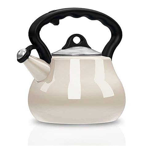 kettle tea enamel porcelain quart remedy lovely lady kettles bedbathandbeyond beyond bath bed