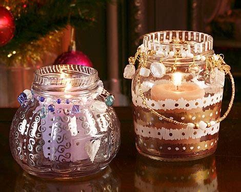 pilot  craft projects christmas jam jar votives