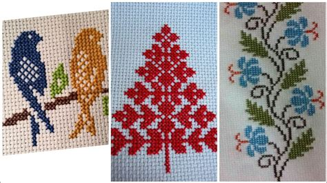 beautiful cross stitch hand embroidery unique patterns