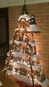 Un Village De Noel En Miniature Pour Un Dcor De Rve 15