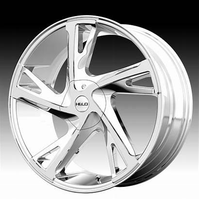 Chrome Helo Wheels Rims Custom Pvd Brand