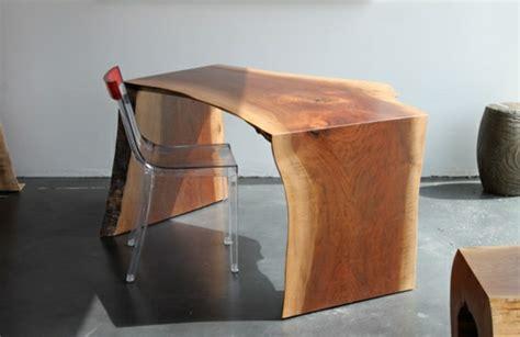 bureau bois brut meubles en bois brut images
