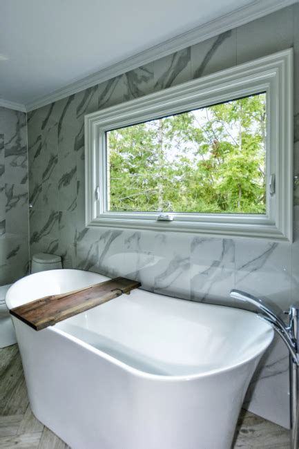 white vinyl awning window bathroom fieldstone windows  doors