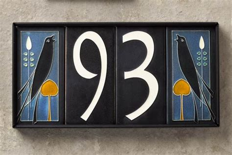 best 25 ceramic house numbers ideas on pinterest