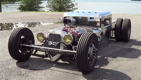 check   amazing hand built hot rod executed