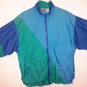 light blue nike windbreaker vintage nike original 90s windbreaker sz from