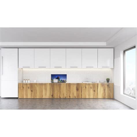 credence cuisine fantaisie crédence acrylique pour cuisine équipée panoramique