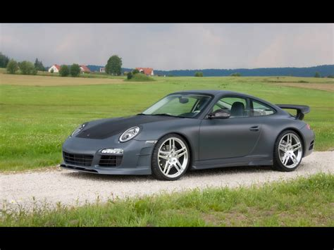 2009 Mansory Porsche 911 Carrera Facelift Front And Side