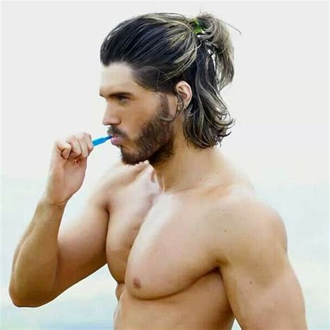 awesome long hairstyles  men