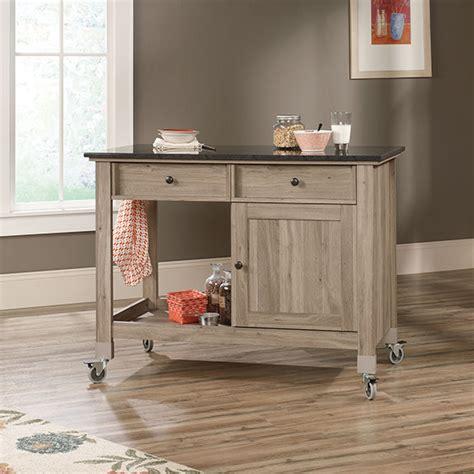 sauder kitchen furniture sauder 417089 mobile kitchen island sauder the