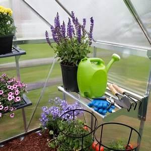 Etagere Pour Serre : etag re renforc e pour serre de jardin palram ~ Premium-room.com Idées de Décoration