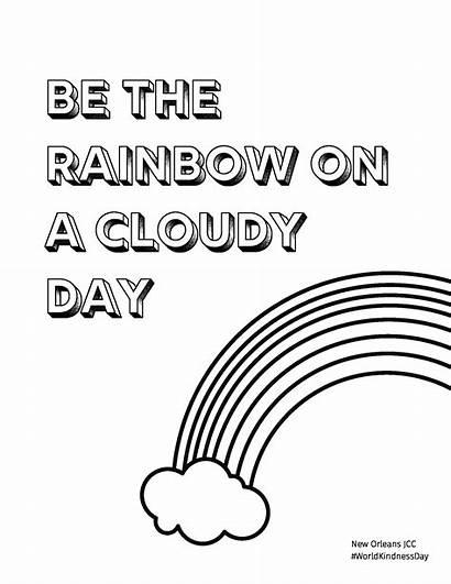 Coloring Kindness Acts Random Printables Printable Pdf
