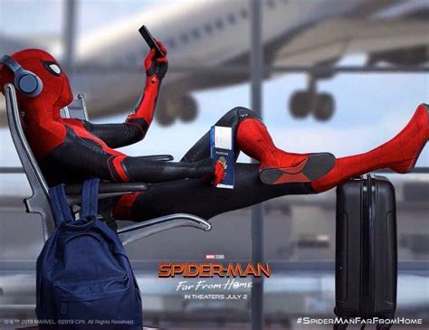 spider man takes  load      home poster
