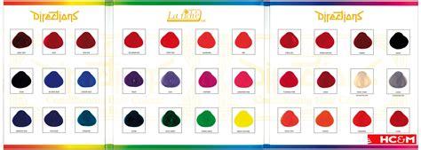 La Rich'e Directions Color Chart.