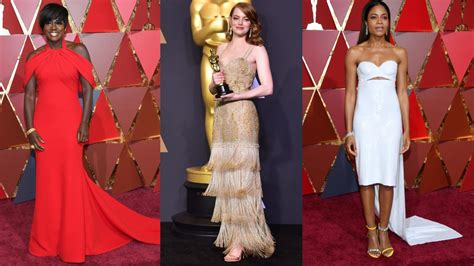 Oscars Red Carpet Fashion Review