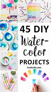 45 DIY Watercolor Projects Ideas You Can Try With Your