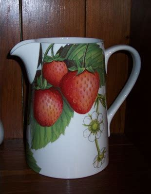 Across My Kitchen Table Strawberry Decor  And More