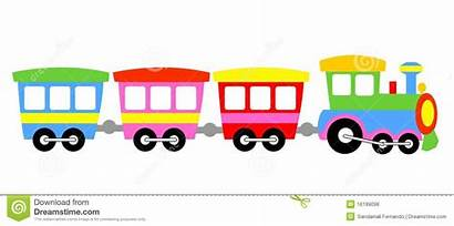 Clipart Train Choo Toy Cartoon Clip Trains