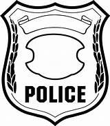 Sheriff Coloring Badge Printable Template Getcolorings sketch template