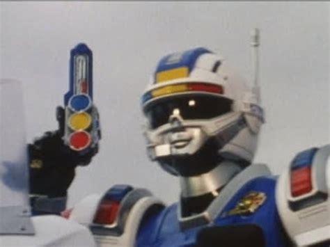 Power Rangers Turbo Blue Senturion