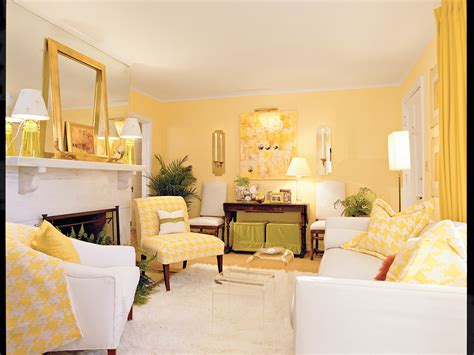 Cheery Yellow Living Room
