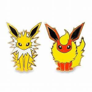 Jolteon and Flareon Pokémon Pins pin collection