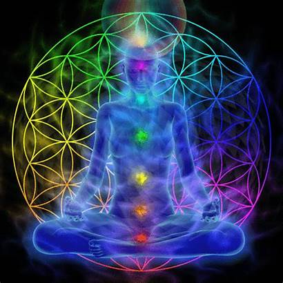 Meditation Mass Visualized Chakra Kundalini Energy Distraction