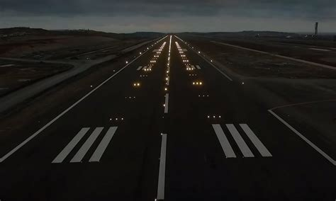 WITH VIDEO: Runway lights blink on at upcoming megahub