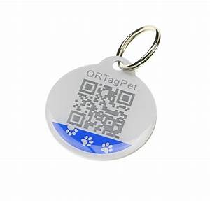 Custom personalized pet qr tag laser engrave wholesalepet for Qr code dog tag
