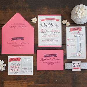modern glam wedding invitation suite wedding invitations With wedding invitations printing calgary