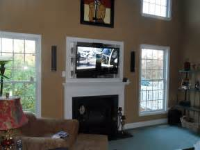 fireplace  tv living room options wall mounted