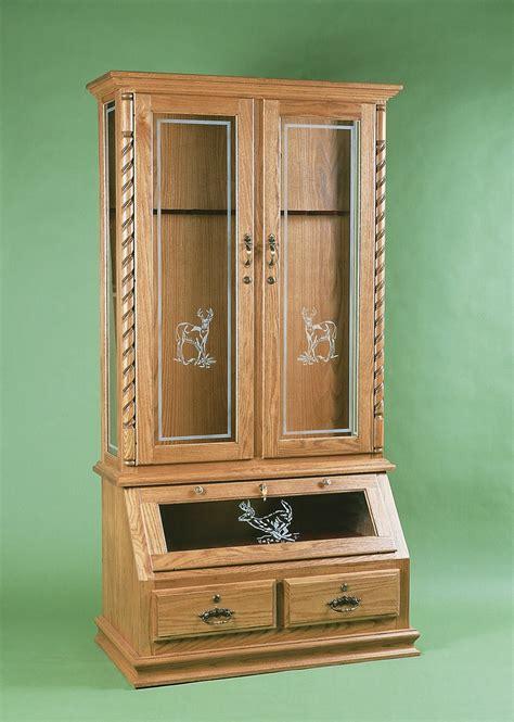hidden wood gun cabinet hidden wood gun cabinet plans woodwork
