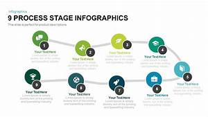 9 Process Stage Infographics Powerpoint And Keynote