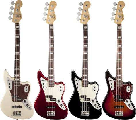 fender announces  american standard jaguar bass