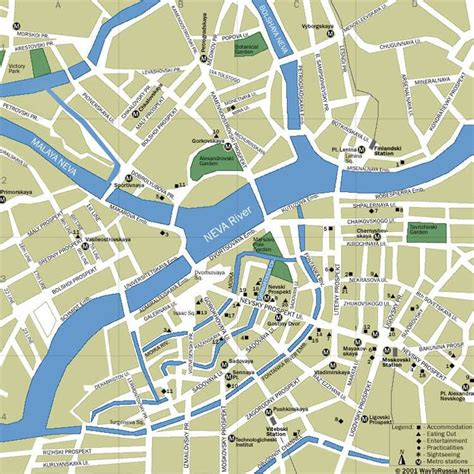 neva cuisine large petersburg maps for free and print