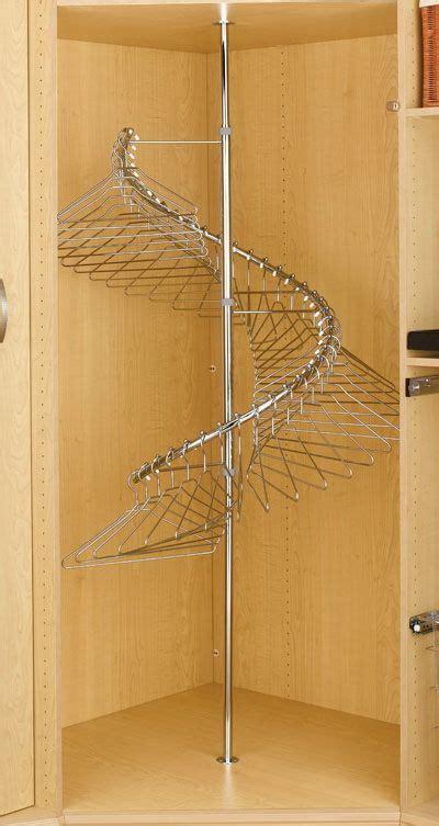 corner clothes rack spiralclothesrack wx   chr clothing rack front closet ideas