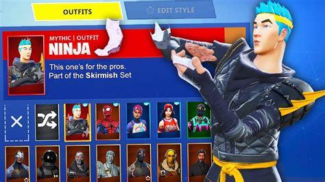 fortnite  ninja skin hack battle royale custom